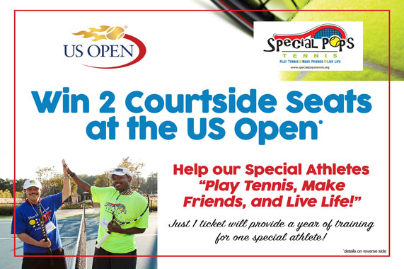 2017 US Open Raffle Tickets Available Now!