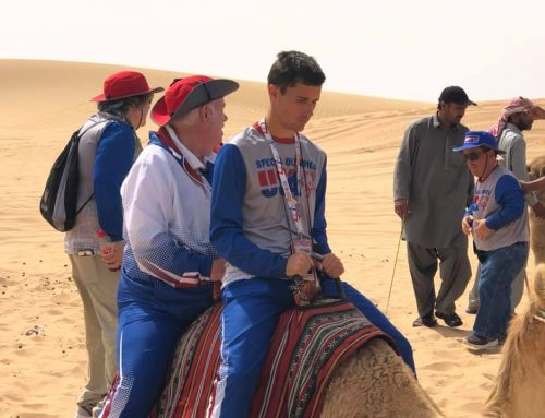 SPT Executive Director travels to Abu Dhabi for the Special Olympics World Games